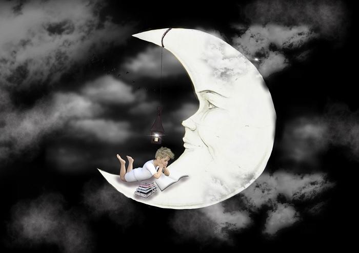 Lune reveur